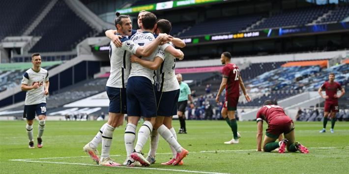 Kane 'strikes again' bij zege Spurs, Bergwijn blijft weer op de bank