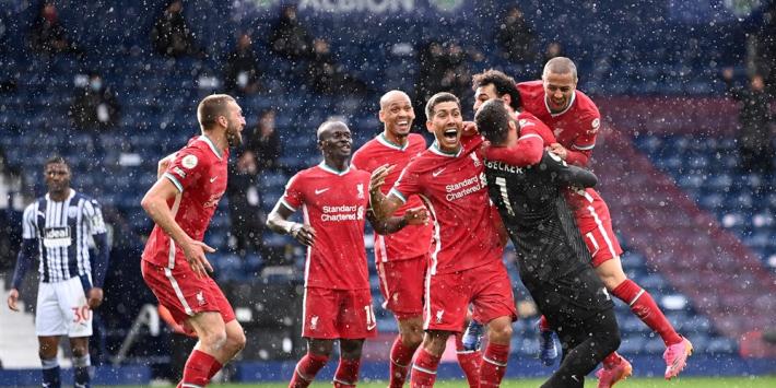 Scorende Alisson Becker lijkt CL-voetbal Liverpool te redden