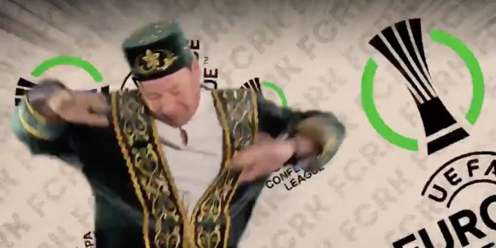 Video: Slutsky viert hilarisch feest na Europees ticket