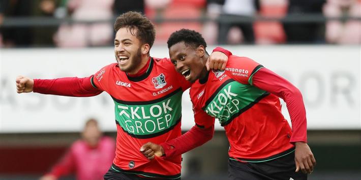 NEC stoomt door naar finale en houdt Eredivisie-droom levend