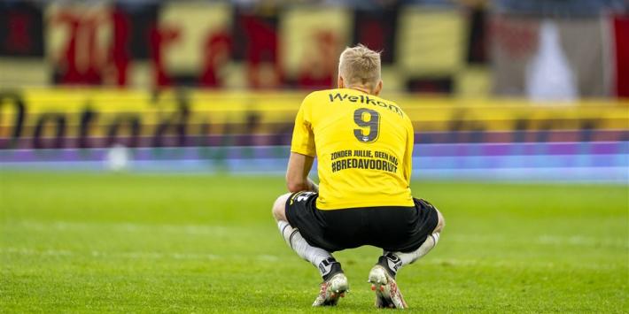 NAC Breda zwaar ontdaan door rellen: 'Een zwarte bladzijde'