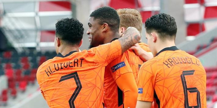 Jong Oranje begint met vijf debutanten aan nieuwe cyclus