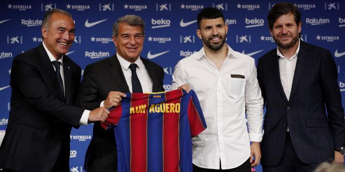 Fraaie geste Agüero: spits levert zo'n 17 (!) miljoen euro in