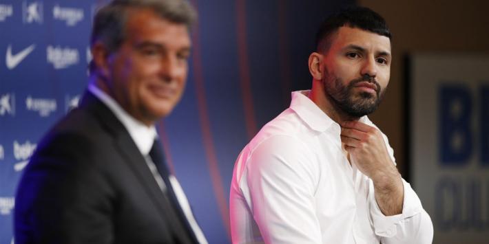 Agüero onderging stamcelbehandeling om fit te starten bij Barça