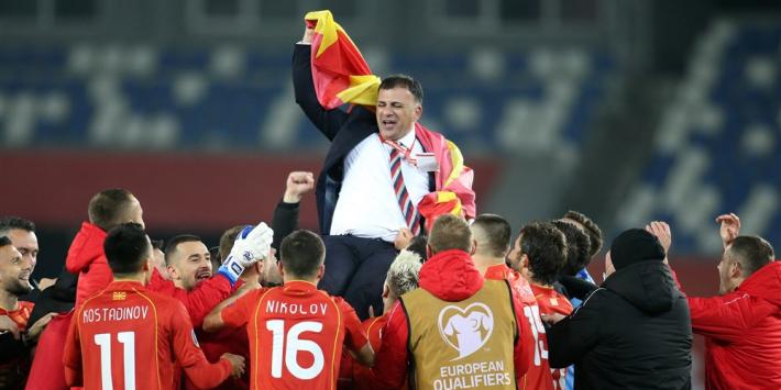 """Noord-Macedonië vol vertrouwen naar EK: """"De Boer is een ramp"""""""