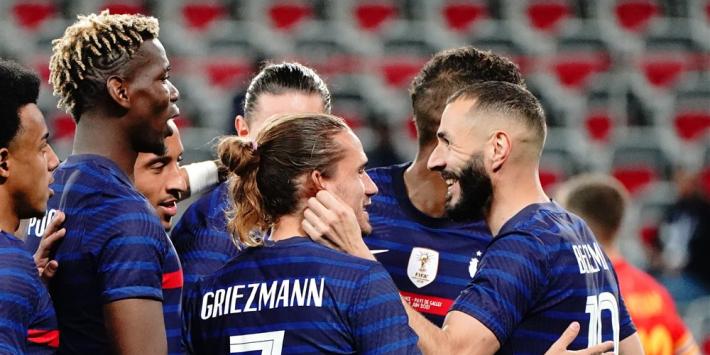 EK-Glazen Bol: zwak Oranje, Frankrijk wint door Benzema