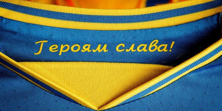 Oekraïne moet na Russische protest EK-shirt aanpassen