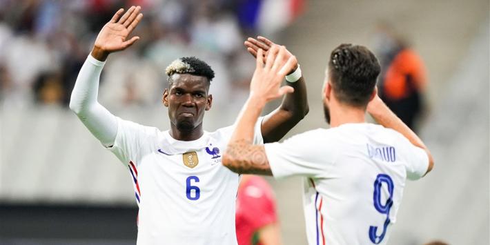 "Pogba lacht Franse 'rel' weg: ""Er speelt helemaal niets"""