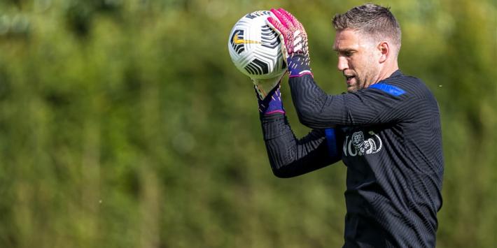 Stekelenburg troeft Van der Sar af met Oranje-record