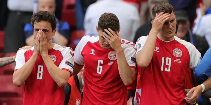 Denemarken tegen Finland wordt 'gewoon' uitgespeeld