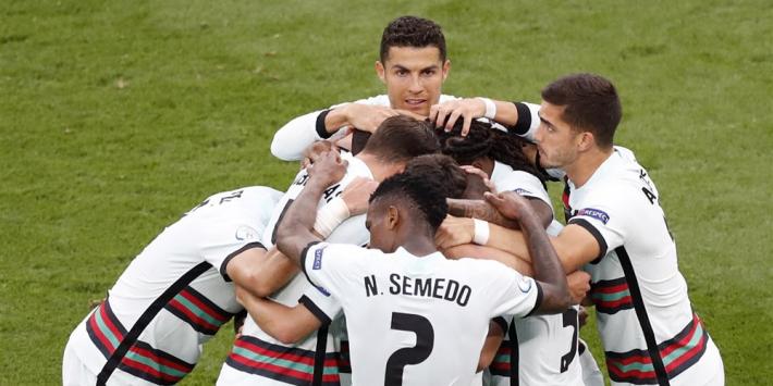 Portugal boekt moeizame eerste overwinning in Poule des Doods