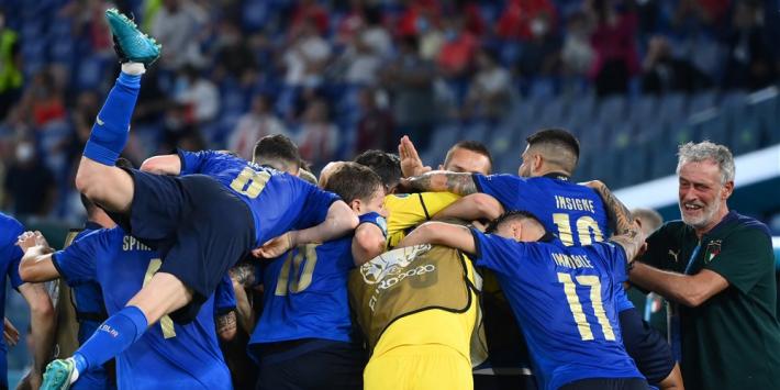 Geplaatst Italië toont zich als EK-favoriet, goed nieuws Oranje