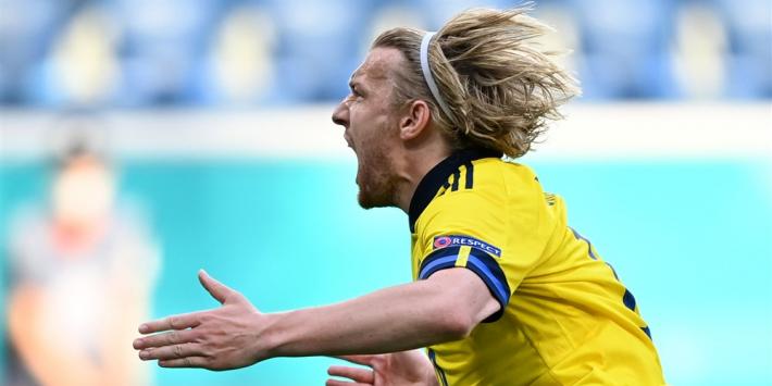 Eerste EK-doelpunt is meteen goud waard voor stug Zweden