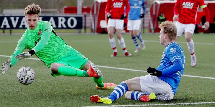 """AZ beloont Westerveld (18): """"Ik wil beter worden dan mijn vader"""""""