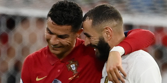 Cristiano Ronaldo breekt alle records met goals tegen Frankrijk