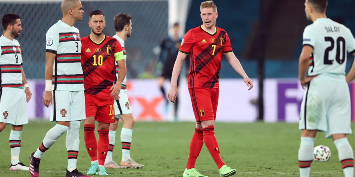België vreest; De Bruyne en Hazard vallen geblesseerd uit