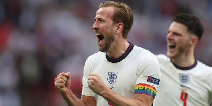 Kane op weg naar all-time topscorersschap met zege Engeland