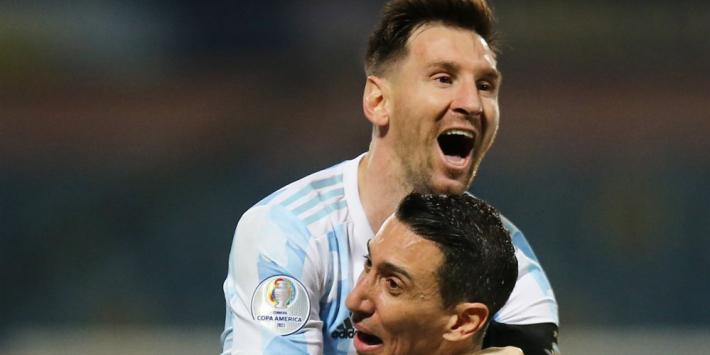 Mijlpaal Messi bij zege Argentinië; Brazilië verliest perfecte status