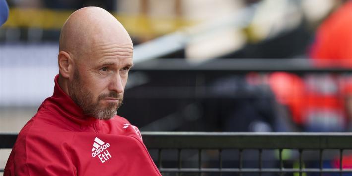 """Ten Hag kraakt Ajax na oefenpot: """"Vond eigenlijk niets echt goed"""""""