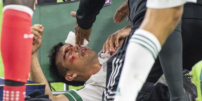Lozano haalt opgelucht adem: schade na botsing valt mee