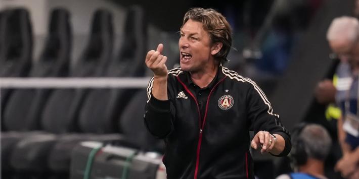 Atlanta United zet opvolger De Boer al na half jaar op straat