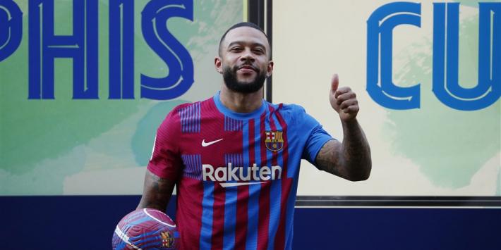 Depay valt in de smaak: 'Lang geleden dat Barça zo'n speler had'