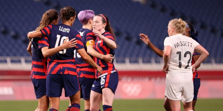 Oranje stevent steeds meer af op kwartfinale tegen VS