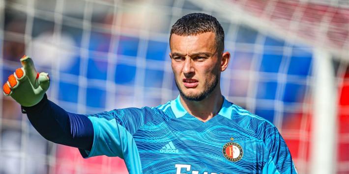 Feyenoord wil verlengen met Bijlow, nog geen akkoord