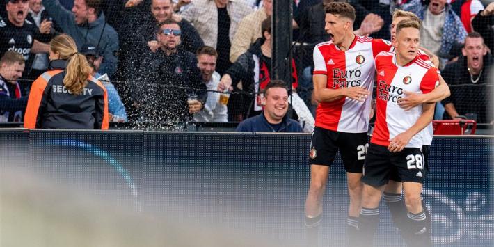 Feyenoord met schaamrood op de kaken verder in Europa