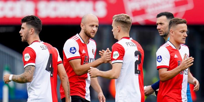 Ajax kijkt vooruit naar CL-start, Feyenoord verliest twee punten