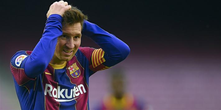 'Statement Barcelona over Messi is géén drukmiddel naar La Liga'