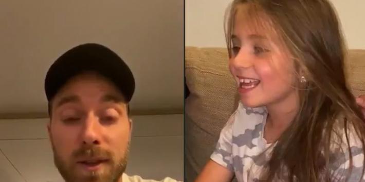 Prachtig: Eriksen spreekt meisje toe dat hartoperatie ondergaat