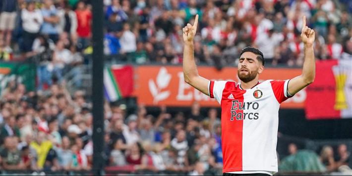 Feyenoord ook in thuisduel met Maccabi zonder Jahanbakhsh