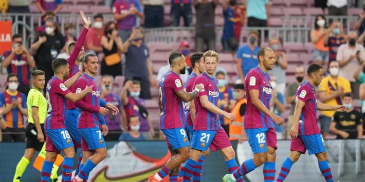 Memphis en Braithwaite schitteren bij eerste Liga-duel na Messi