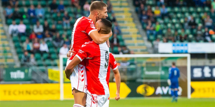 FC Emmen wint in Hofstad voor het eerst dankzij Hilterman