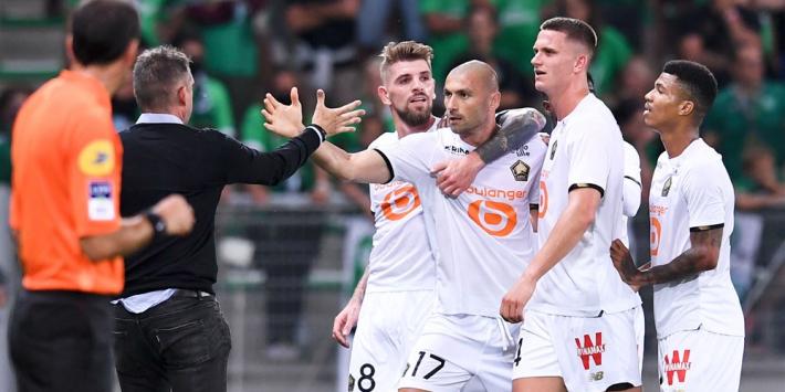 Landskampioen Lille kan rampzalige start nog niet ombuigen