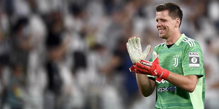 Juventus gelijk door Szczesny, winnende goal Ronaldo afgekeurd