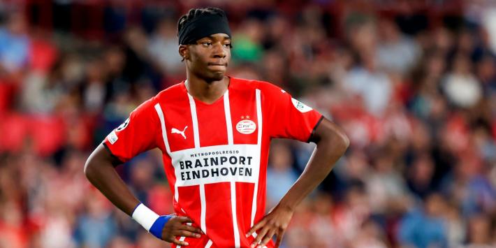 Sterk elftal PSV niet langs TOP Oss; terugkeer Madueke