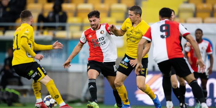 Eerste nederlaag van het seizoen deert Feyenoord niet