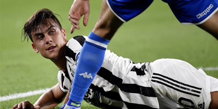 Juventus mist Ronaldo direct en gaat af als een gieter