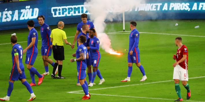 Apengeluiden in Hongarije; FA vraagt FIFA om actie