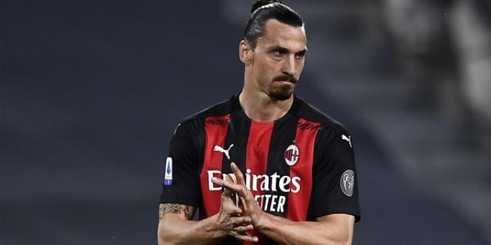 God is back: Zlatan helpt Milan in 7 minuten met goal aan zege