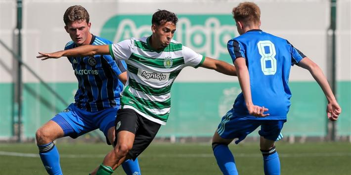 Ajax Onder 18 begint Youth League met uiterst gelukkige remise