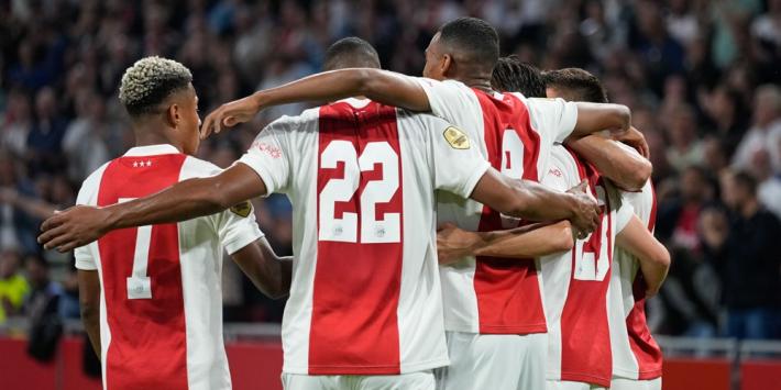 Ontketend Ajax haalt net niet de dubbele cijfers tegen Cambuur