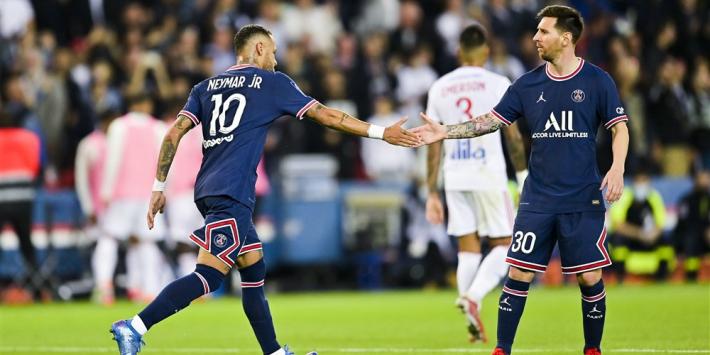 Bosz krijgt véél te weinig met Lyon bij boze Lionel Messi en PSG