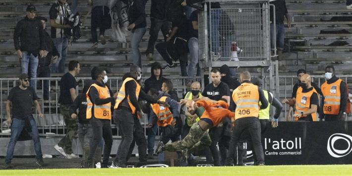 Wéér rellen in Ligue 1, Franse bond komt bijeen