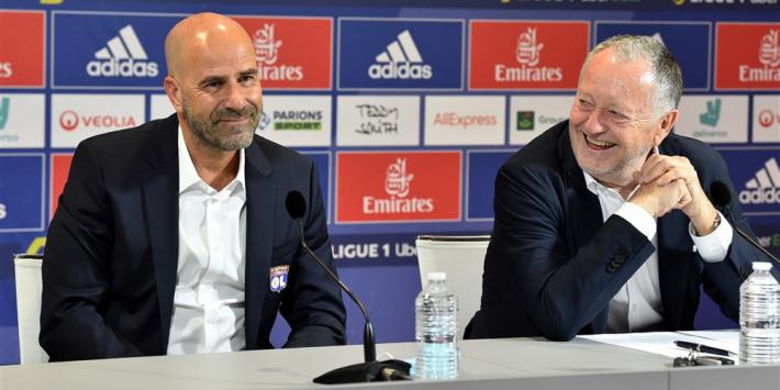 """Lyon-preses looft trainer Bosz: """"Ben onder de indruk"""""""
