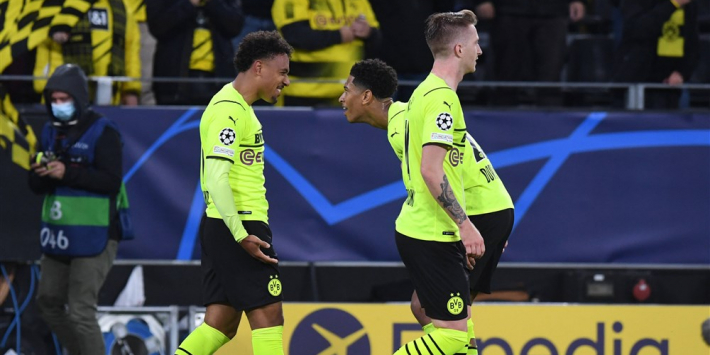 Eerste treffer Malen brengt Dortmund weer naast Ajax