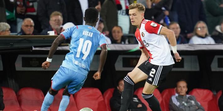 "Holmgren Pedersen verbaast Feyenoord-fans: ""Ik werk extra hard"""