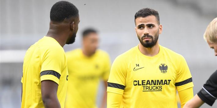 Nog geen afscheid: Vitesse zet Tannane terug naar Onder 21